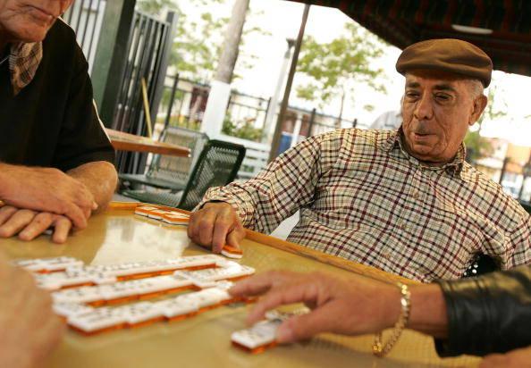 Miami's Cuban Community Talks Politics In Domino Park