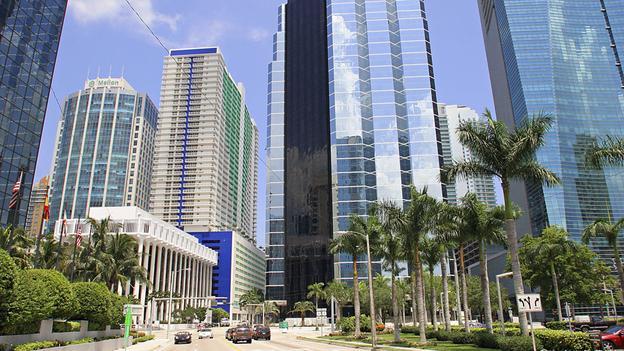 Florida, Miami, Brickell Avenue Financial District