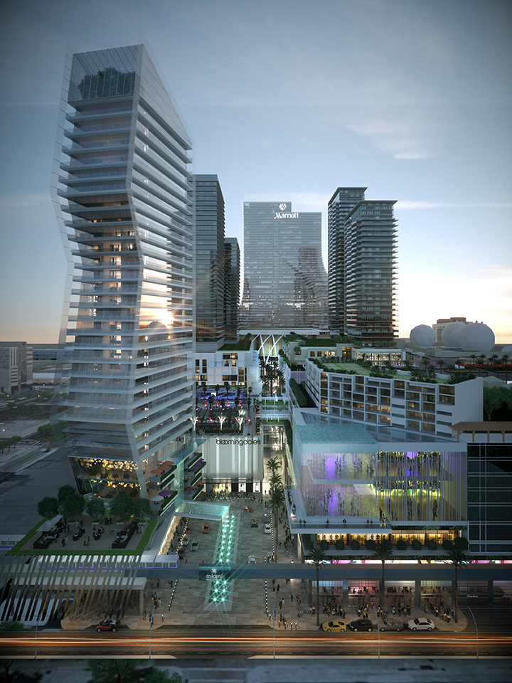 Miami Worldcenter - Entry Plaza 04.25.14