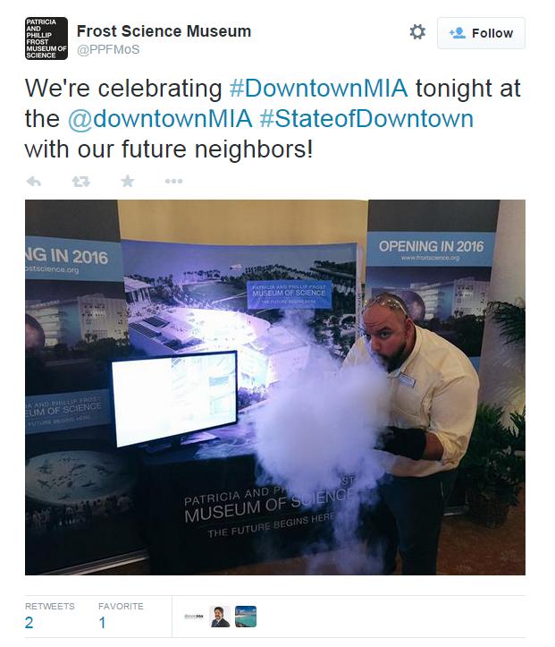 Frost Science Tweet