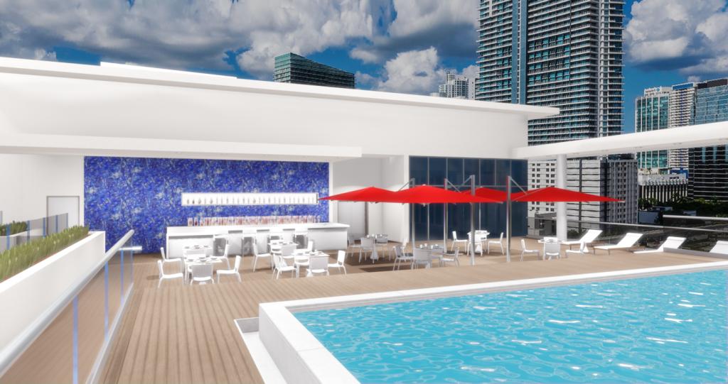 Atton Miami Rooftop Pool