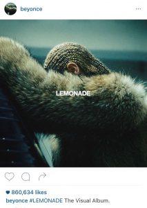 Beyonce Social Media