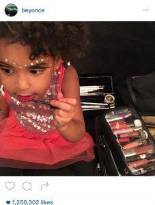 Beyonce Social Media Blue Ivy
