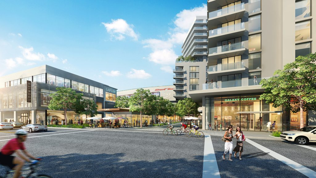 Redeveloped Sunset Place